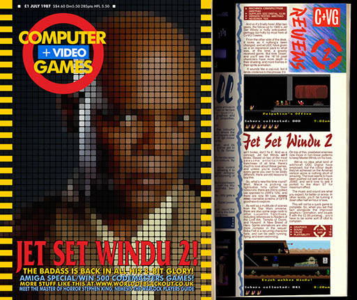 Jet Set Windu 2: The C&VG Cover and review - Click for bigger