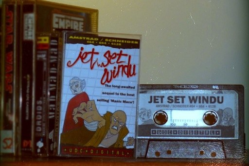 Jet Set Windu for the Amstrad CPC464