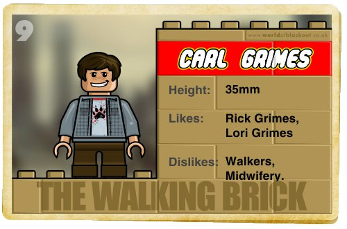 Slightly Inappropriate Lego #9 : Carl Grimes