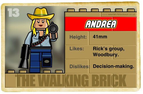 Slightly Inappropriate Lego #13 : Andrea