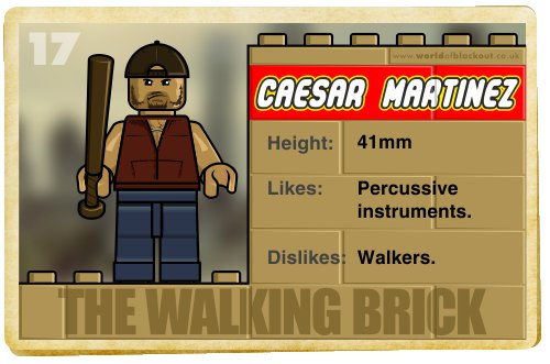 Slightly Inappropriate Lego #17 : Caesar Martinez