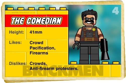 Slightly Inappropriate Lego #4 : The Comedian