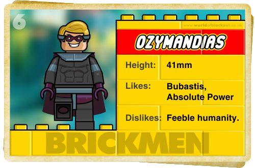 Slightly Inappropriate Lego #6 : Ozymandias