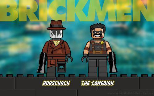Slightly Inappropriate Lego: Brickmen