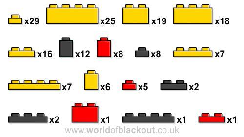 Watchmen in 167 bricks