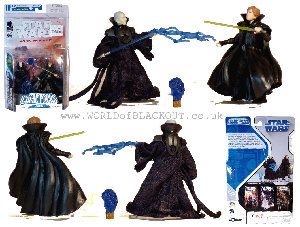Clone Palpatine & Luke Skywalker (Comic Pack)