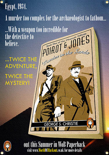 The Indiana Jones / Hercule Poirot crossover novel.
