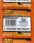 Star Wars Rebels Sticker Collection 2014 / Star Wars Rebels Sticker Collection 2014 / Sticker Pack (back)