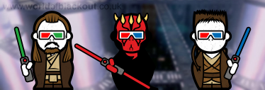 Star Wars, The Phantom Menace: Now in 3D.