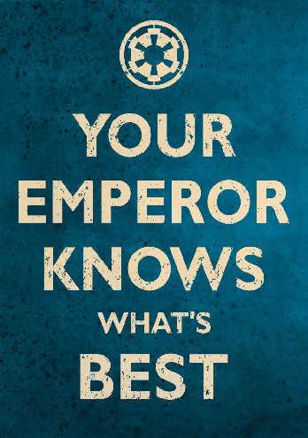 That Emperor.